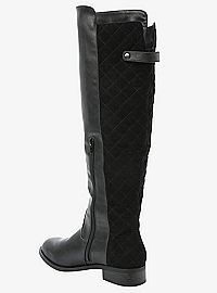 TORRID.COM - Quilted-Back Tall Boots (Wide Width)