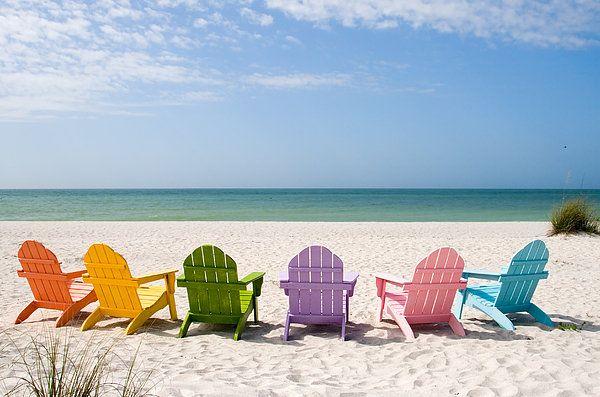 Florida Sanibel Island Summer Vacation Beach Print By Elite Image Photography By Chad Mcdermott