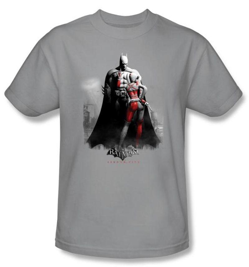 Batman Arkham Knight Harley Quinn City Licensed Adult T Shirt