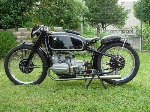 Classic Bmw Motorcycle Looks Like It Might Be One Of The