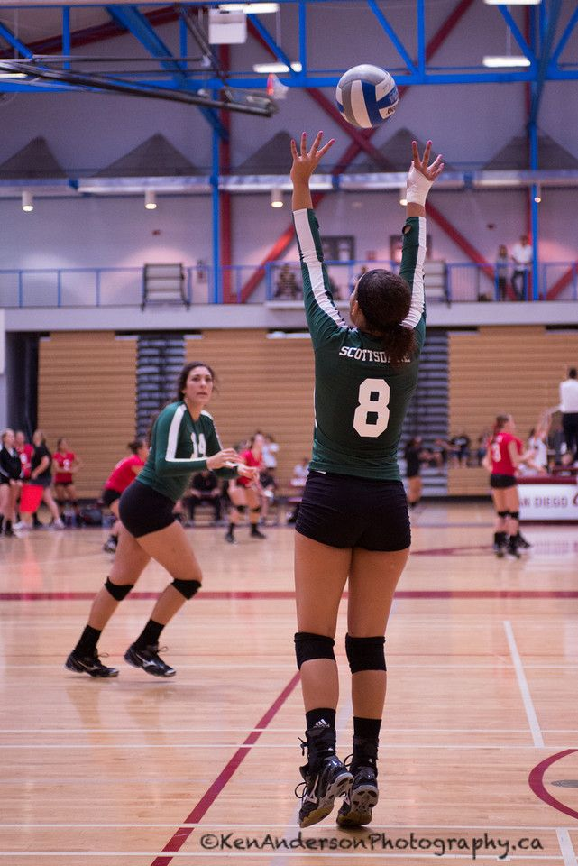 Scottsdale Community College Volleyball 2013 2014 Set Sports Photography Gym Girls Volleyball