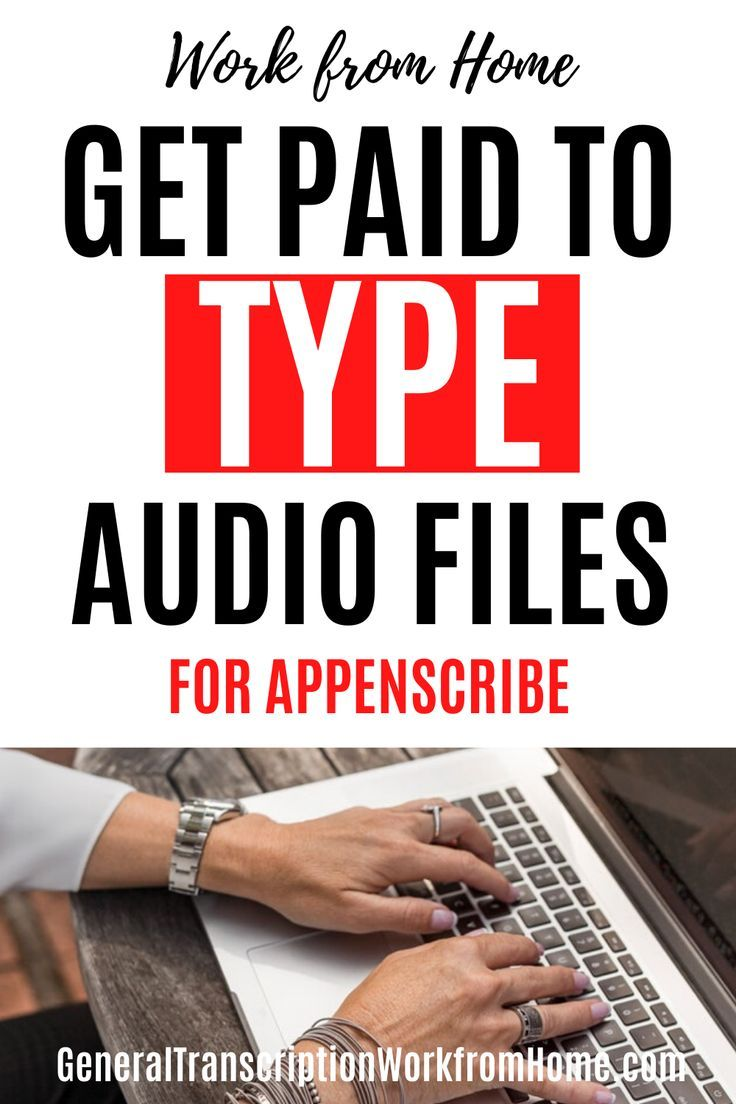 Typing Jobs from Home in 2020 Transcription jobs for