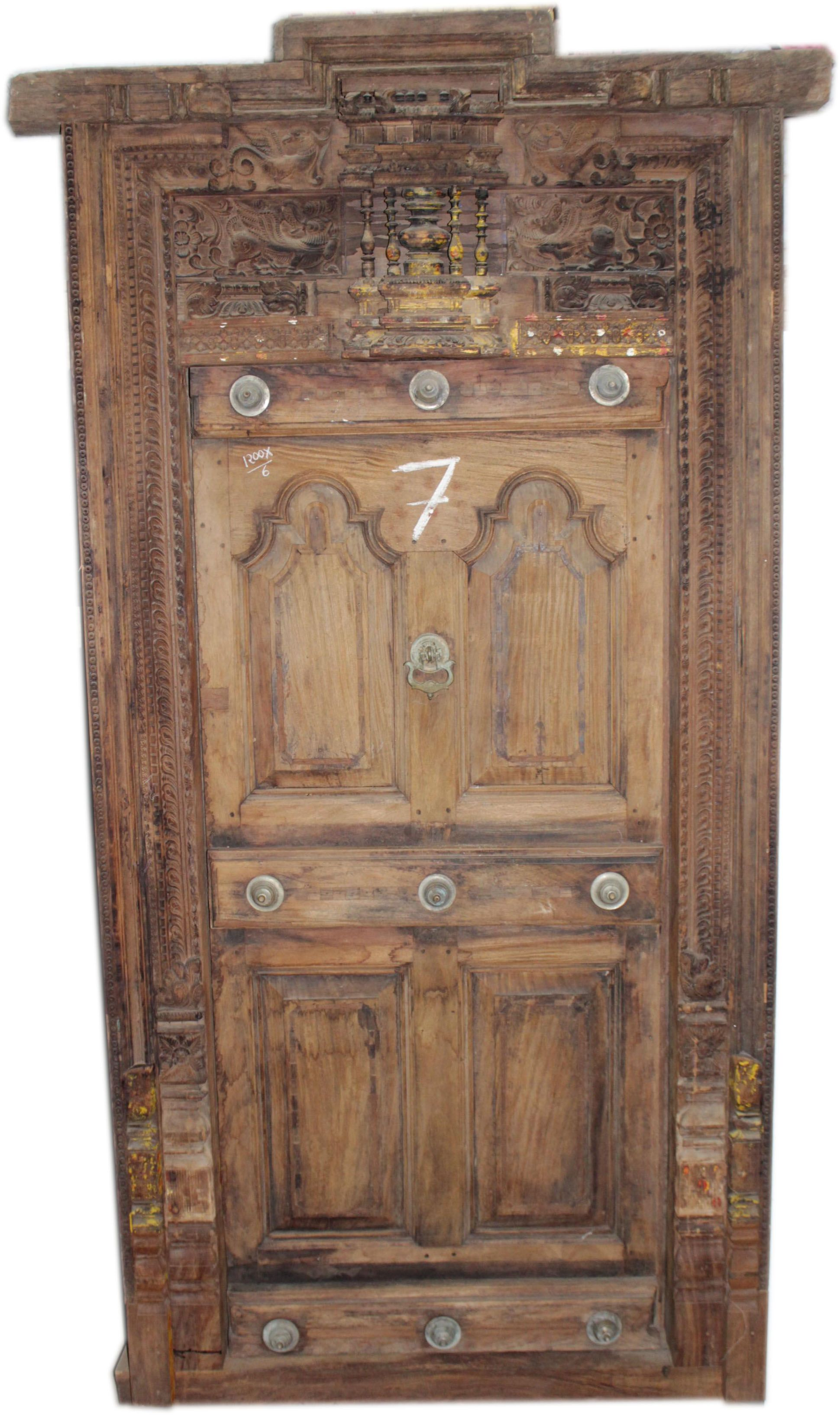 OLD WOODEN DOOR PROVIDE VINTAGE LOOK TO YOUR HOME | South Indian ...