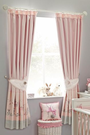 Bunny Pencil Pleat Curtains From The Next Uk Online