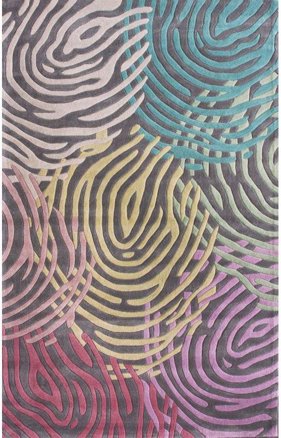 Rugs usa keno cirlces multi rug decoracion alfombras cine y arte - Alfombras contemporaneas ...