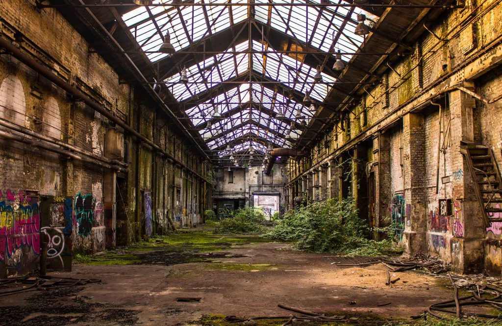Lost Place, Köln | Art Foyer in 2019 | Abandoned places ...
