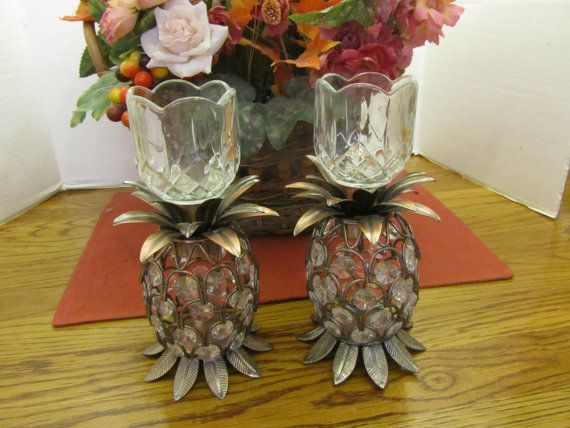 Hey, I found this really awesome Etsy listing at https://www.etsy.com/listing/189868957/pineapple-candle-holder-copper-tone-with