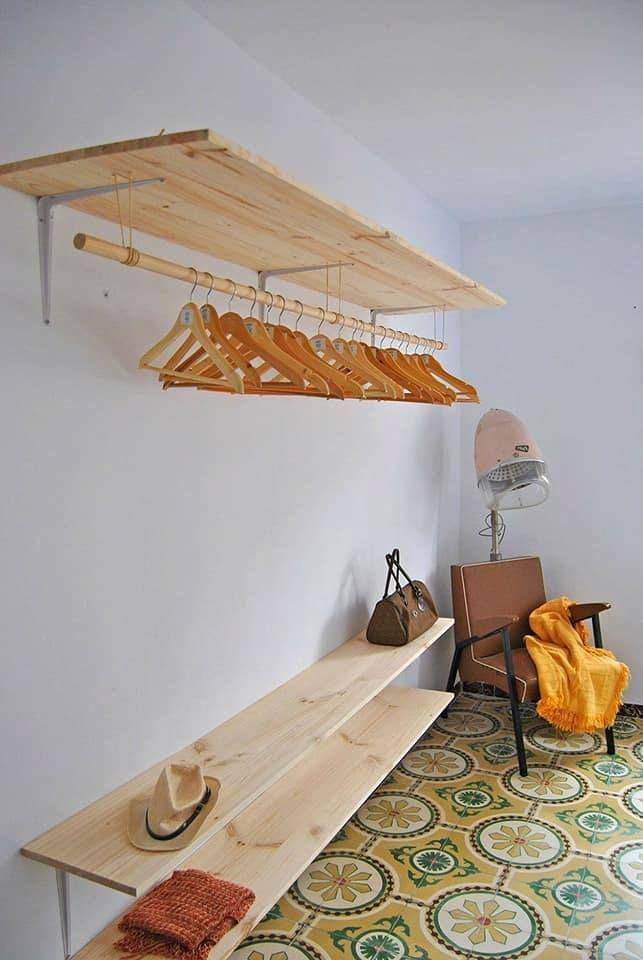 ¡12 ideas de closets que puedes hacer tu mismo con madera reciclada! - Un  millón de IDEAS. b564d22bf869