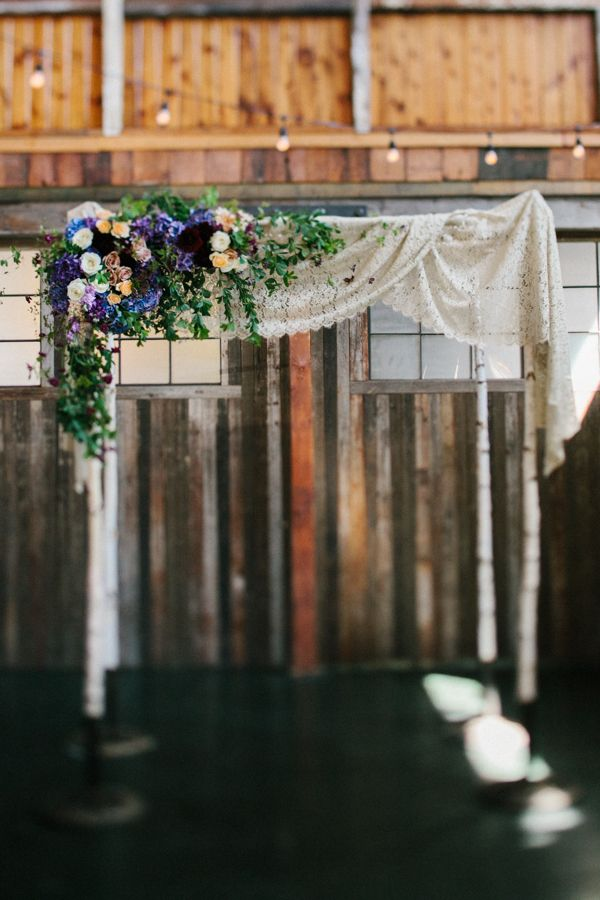 b19cfd4c6355 Rustic Chic Seattle Wedding | that special day | Wedding decorations,  Vintage wedding arches, Wedding chuppah