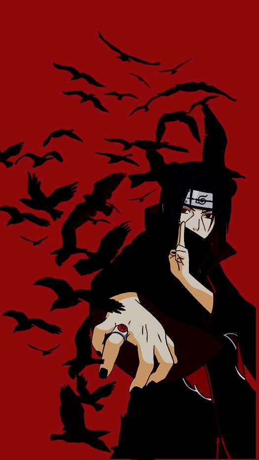 Itachi Uchiha Papel De Parede Anime Anime Naruto Tatuagens De Anime