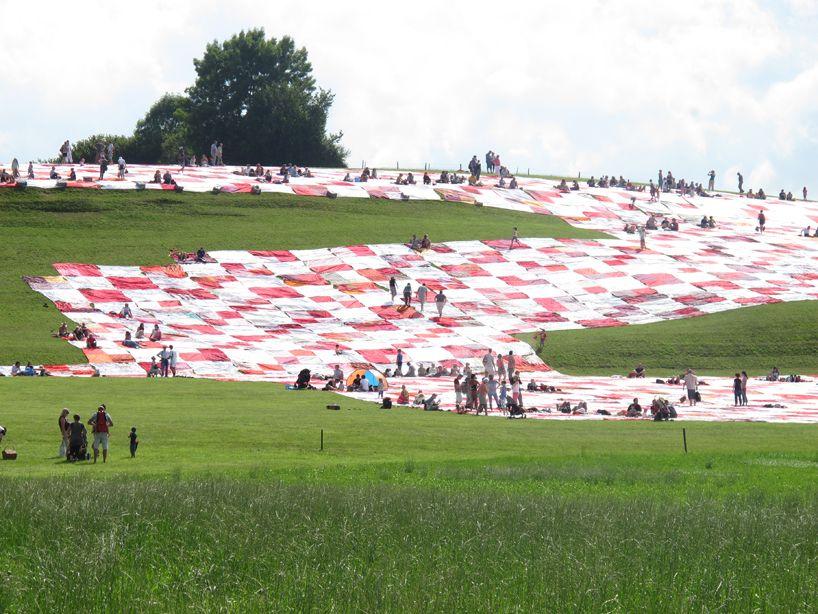 BigNik: Huge Picnic Ground! by frank and patrik riklin,  switzerland