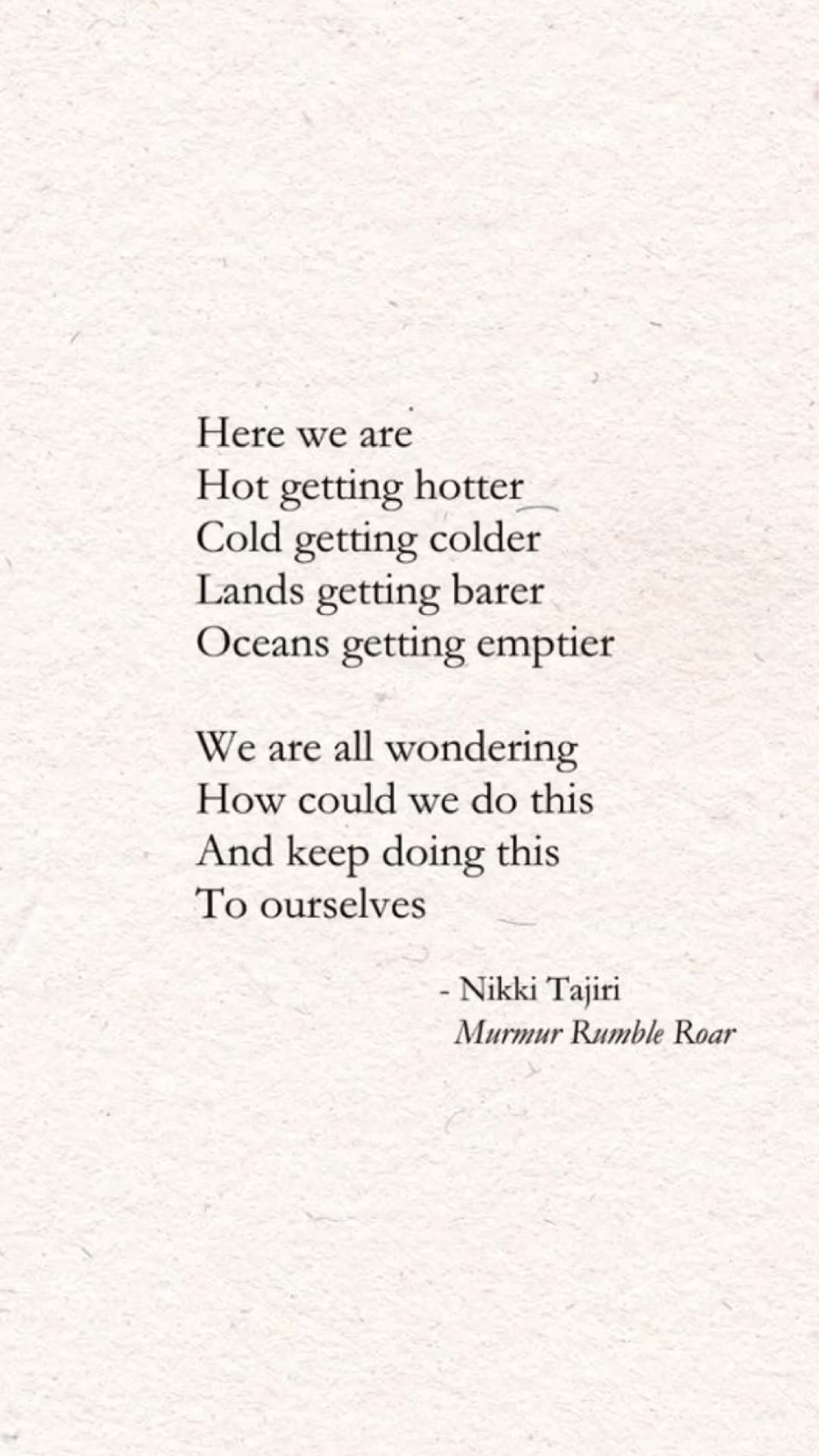 Poetry | Book on Amazon worldwide | Climate Change Quotes | Nature Poems | Environmentalist