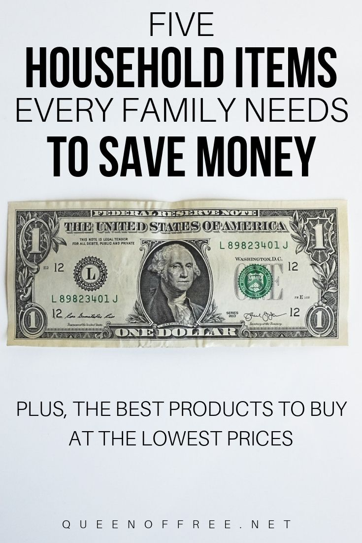 5 items every household needs to save money paying off