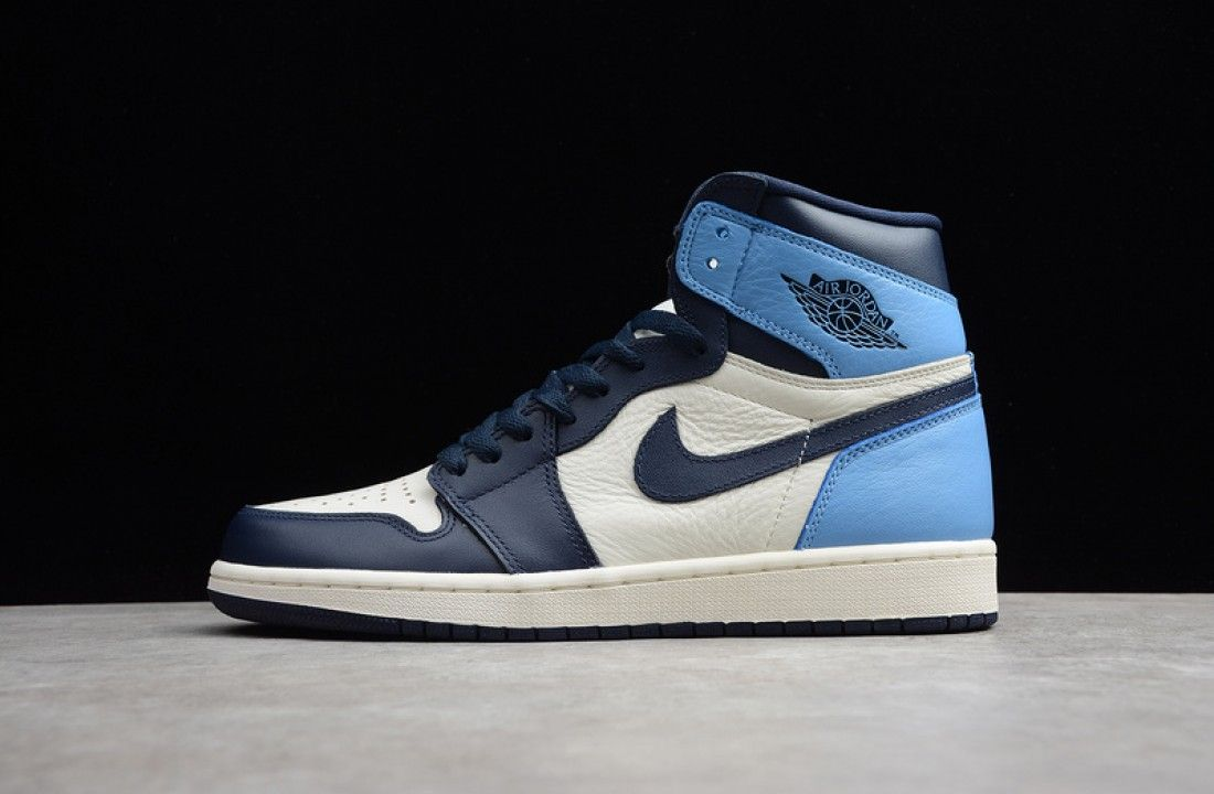 Air Jordan 1 Obsidian University Blue 555088-140 in 2020 ...