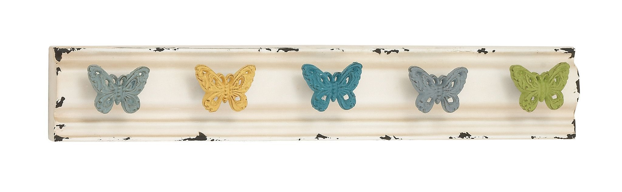 Chaps butterfly metallic wall hooks products pinterest
