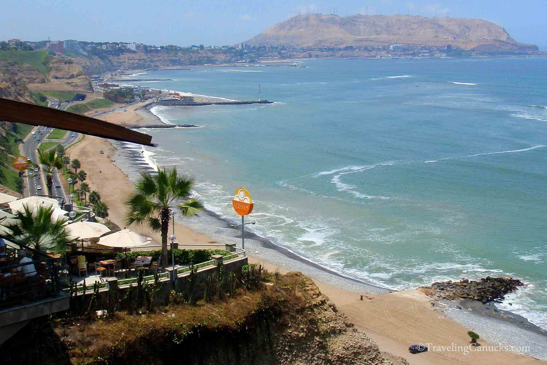 Surfing Lima Peru Beach Resorts Waves All Year Long The Vian Coastline Is Bathed By Pacific In Coast Of Great Surf