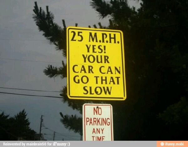 Lol Speed Sign / IFunny :)
