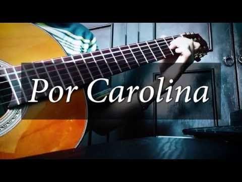 Chords For Por Carolina Play Along With Guitar Ukulele Or Piano