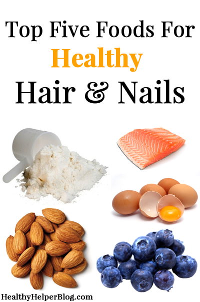 Top five foods for healthy hair nails healthy hair wellness top five foods for healthy hair nails healthy helper forumfinder Images