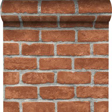 Tapeta Red Brick 3d Czerwona Imitacja Cegly Winylowa Na Flizelinie Inspire Tapety Na Sciane W Atrakcyjnej Cenie W Sklepach Leroy Merlin