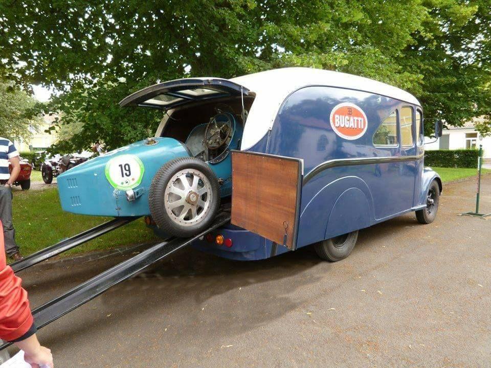 Race Car Transporters Bugatti Type 35 Transporter Bugatti