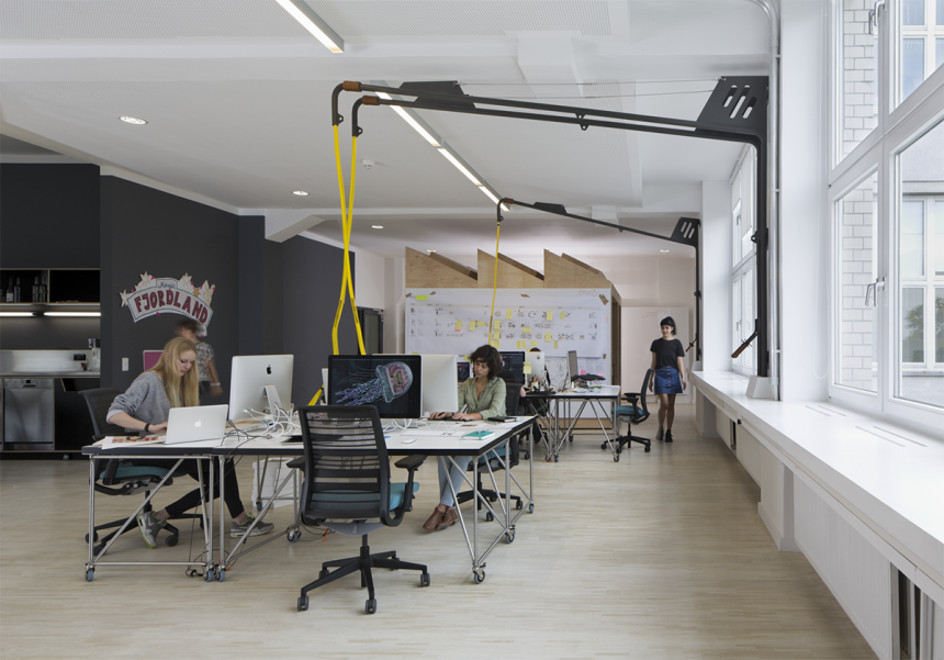 Arms that bring electricity"