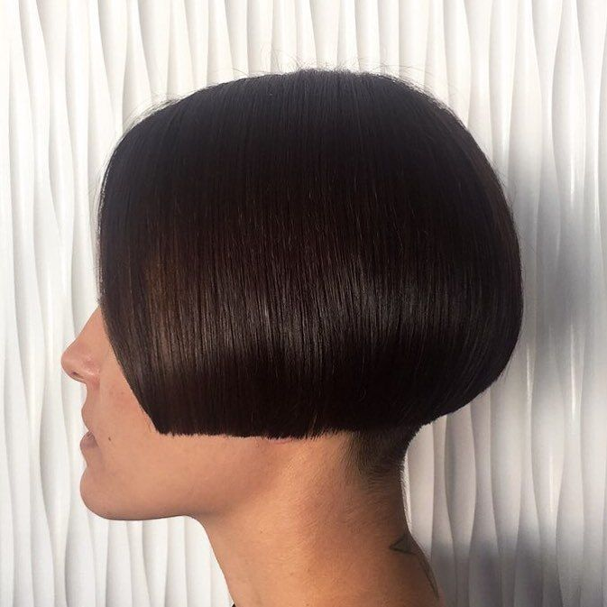 simple lip-length bob beautiful