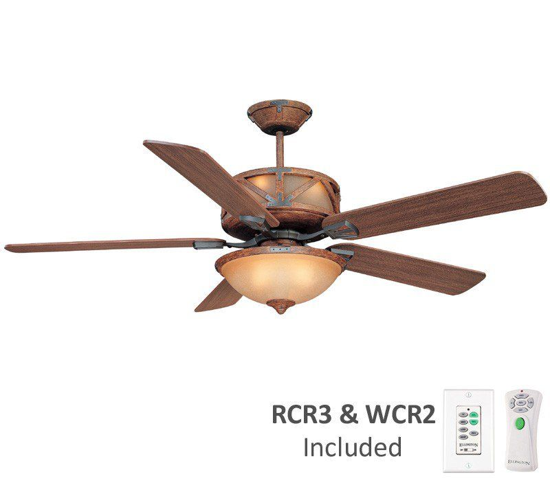 Craftmade Dl60dmi5crw Deer Lodge Dark Mahogany 60 Ceiling Fan W Light Wall Remote Ctrl Ceiling Fan Ceiling Fan Switch Living Room Ceiling Fan