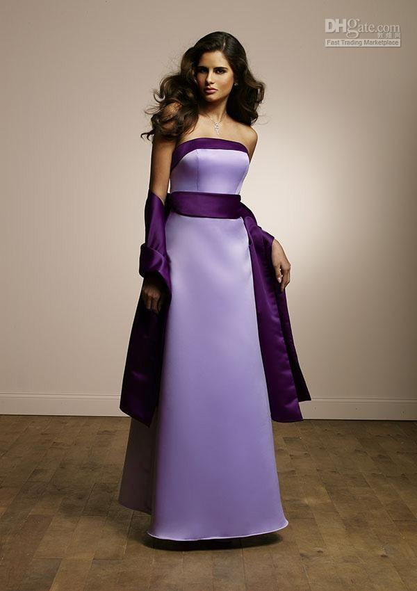 LILAC / PURPLE BRIDESMAID DRESS | Bodas | Pinterest
