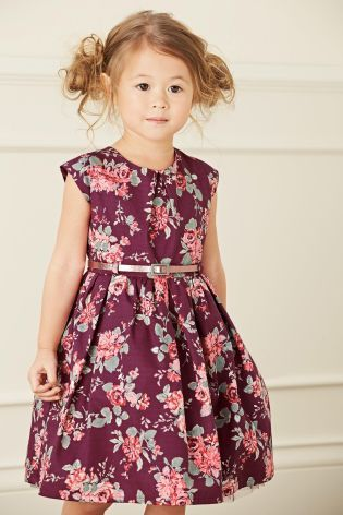 Buy Berry Floral Prom Dress 3mths 6yrs Online Today At