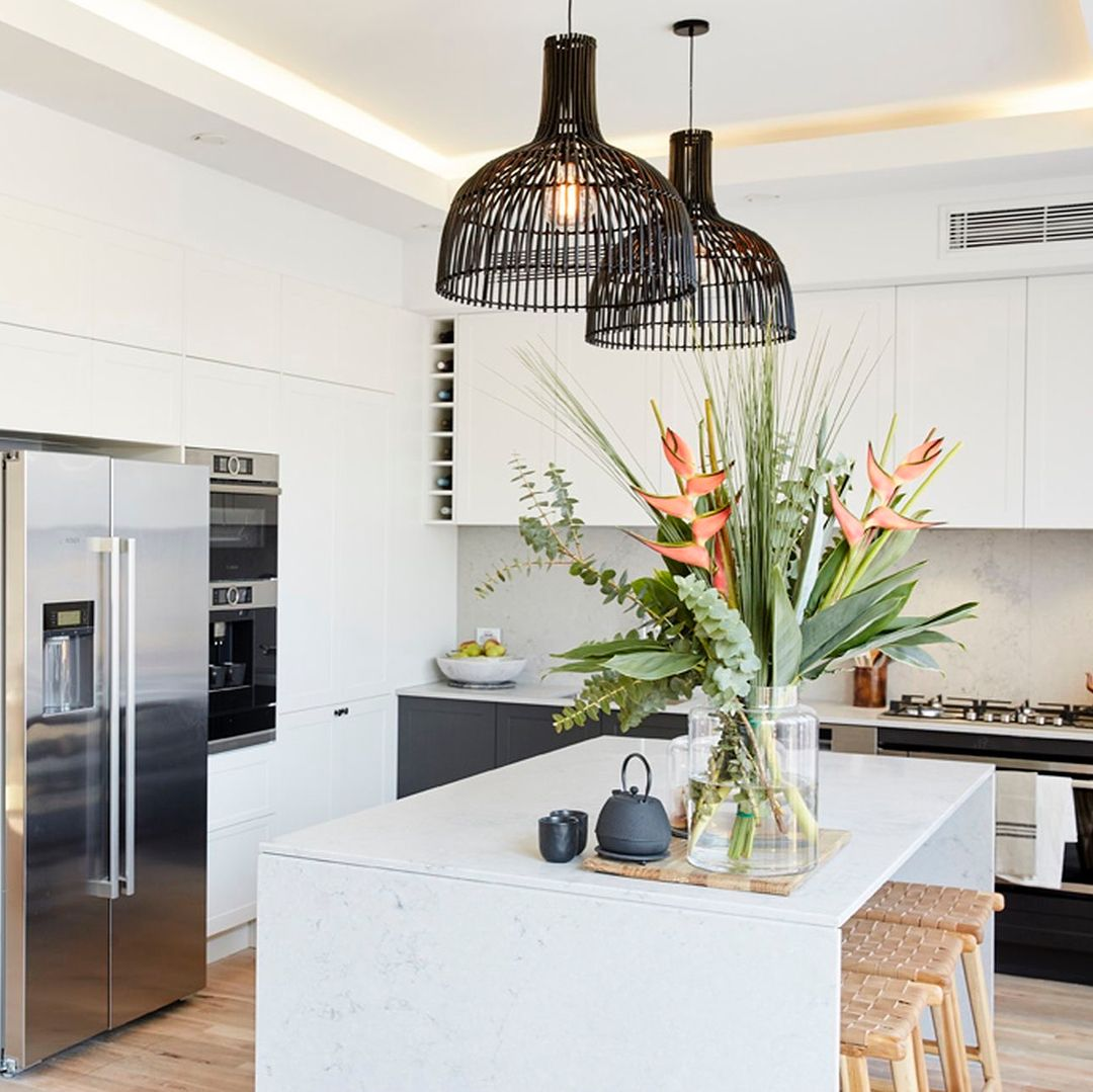 The Block Kitchen Pendant Lights: Pin By Loz Campbell On Kitchens