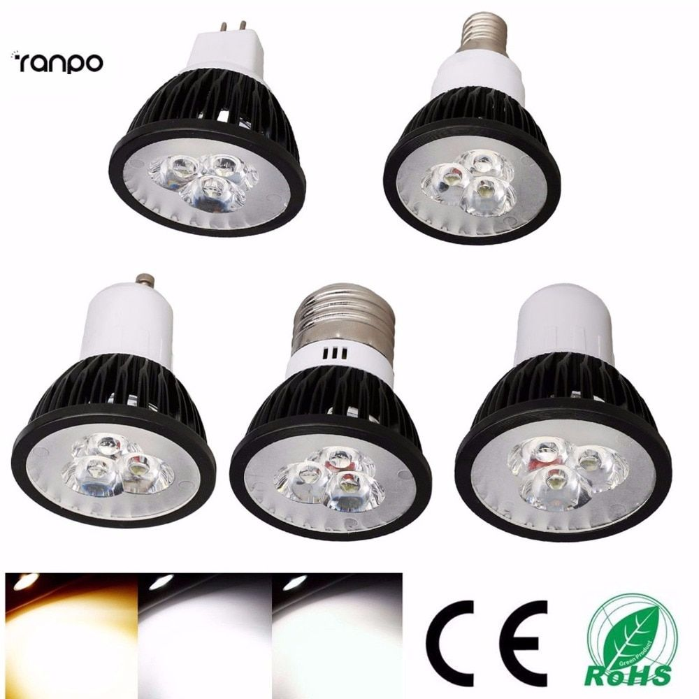 Us 17 97 11 Off 10x Led Spotlights Gu10 E27 E14 Gu5 3 3w 6w 9w Smd Bulbs Lamp Light 110v 220v Warm Cool White Gu10 Gu10 Led Dimmable Warm Whitegu10 Reflector Led Spotlight Lamp