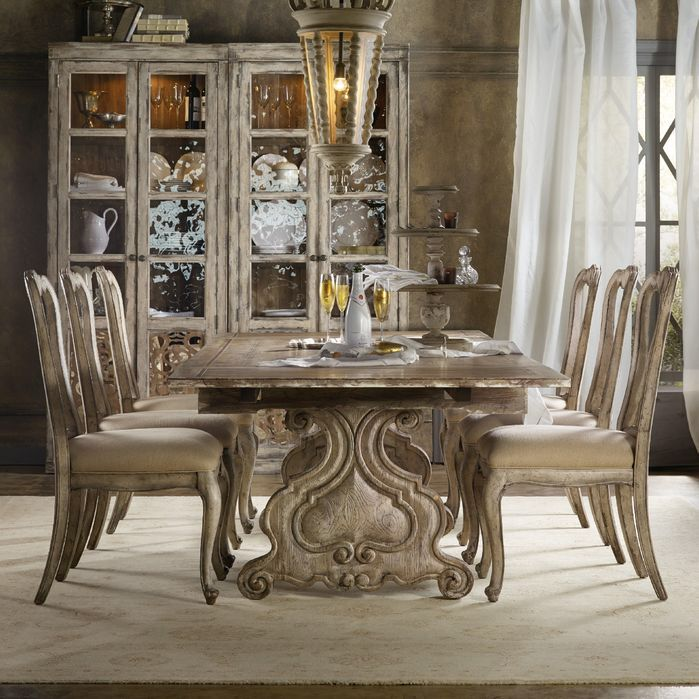 Chatelet Dining Table Base  202 Creekridge  Pinterest  Hooker Enchanting Casual Dining Room Tables Design Inspiration