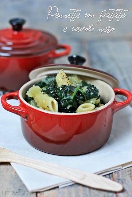 Letizia in Cucina: Pennette con patate e cavolo nero | Primi piatti ...