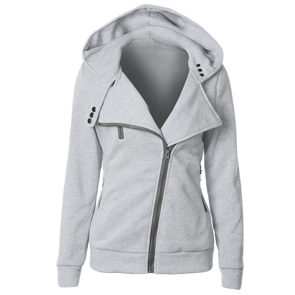 aa3a4520e8 Smart Comfortable Long Sleeve Zip Street Wear Hoodie Sweatshirt in ...