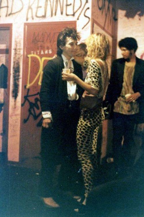 Johnny Thunders at Whisky a Go Go, L.A. 1981