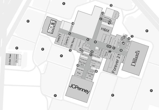 Oakwood Center shopping plan   Mall maps   Mall, Diagram, Map