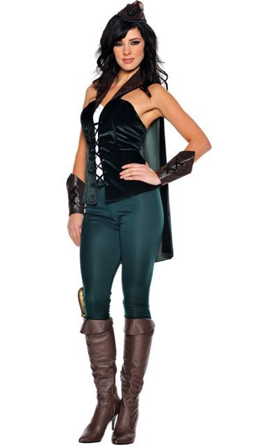 Adult Lady Robin Hood Costume -Storybook Costumes -Womens Costumes -Halloween Costumes - Party  sc 1 st  Pinterest & Adult Lady Robin Hood Costume -Storybook Costumes -Womens Costumes ...