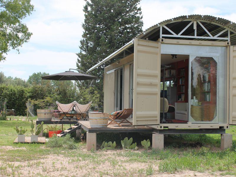container haus proy pinterest casas contenedores casas y casas prefabricadas. Black Bedroom Furniture Sets. Home Design Ideas