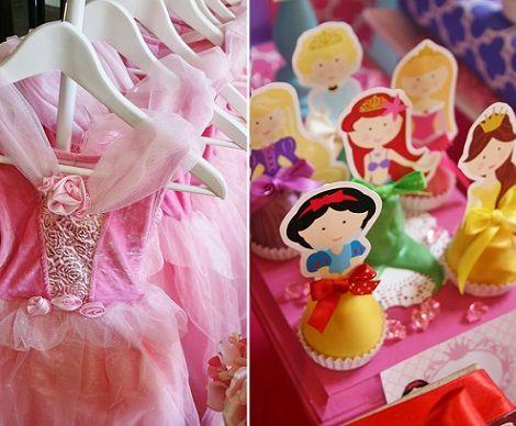 ideas para un cumpleaos de princesas disney
