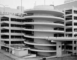 Parking Deck At The Old Rich S Department Store I Thought It Was So Cool Going Around That As A Child Downtown Broad Streets Architecture