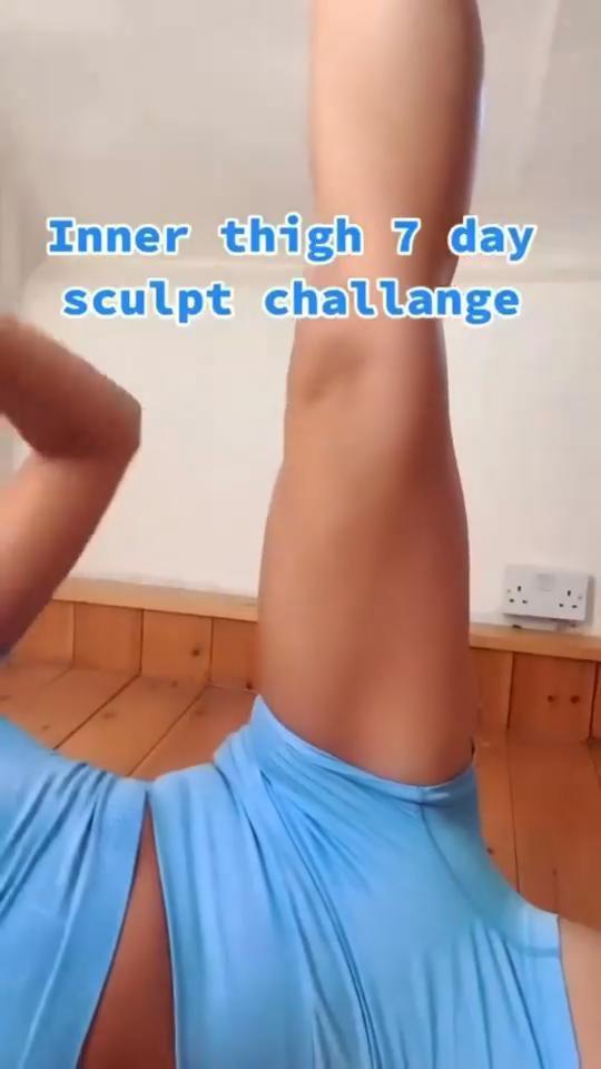 Inner thigh 7 day sculpt challange