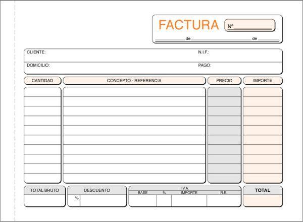 Resultado De Imagen Para Modelo De Factura En Blanco Para Descargar Imagenes De Facturas Facturas Presupuesto Excel