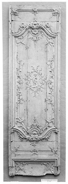 Door panel   French   The Met
