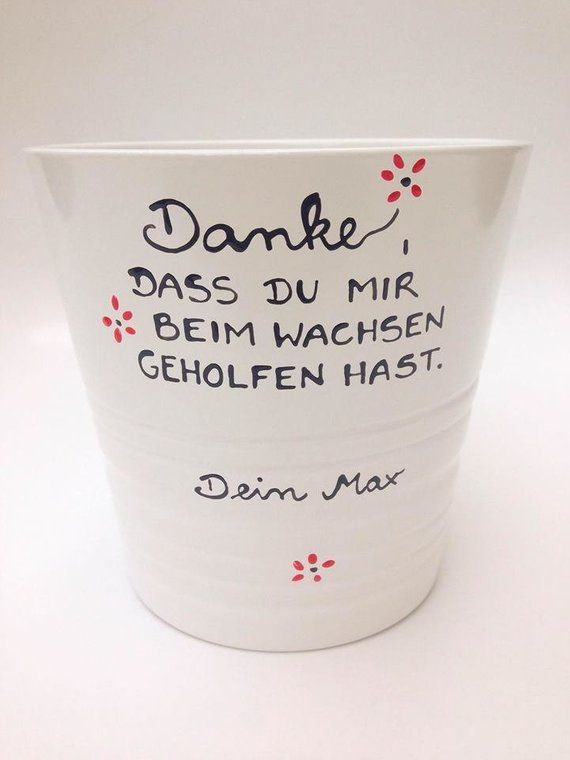 Flower Pot Educator, thank you kindergarten, gift educator, gift kindergarten, day mother #flowerpot