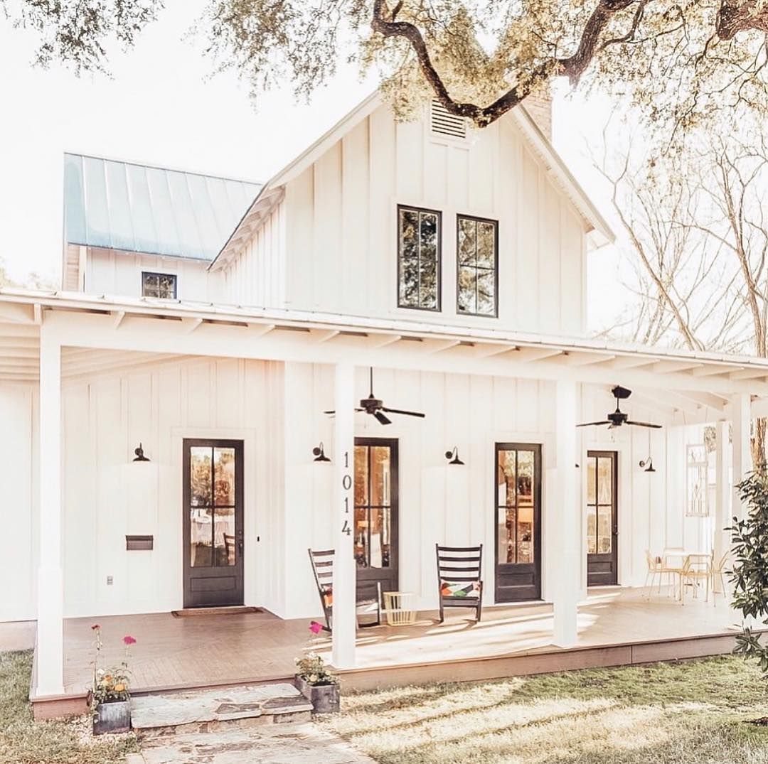 """Ashley on Instagram: """"This house is absolutely gorgeous! There's nothing better than a spring morning on a porch just like this."""