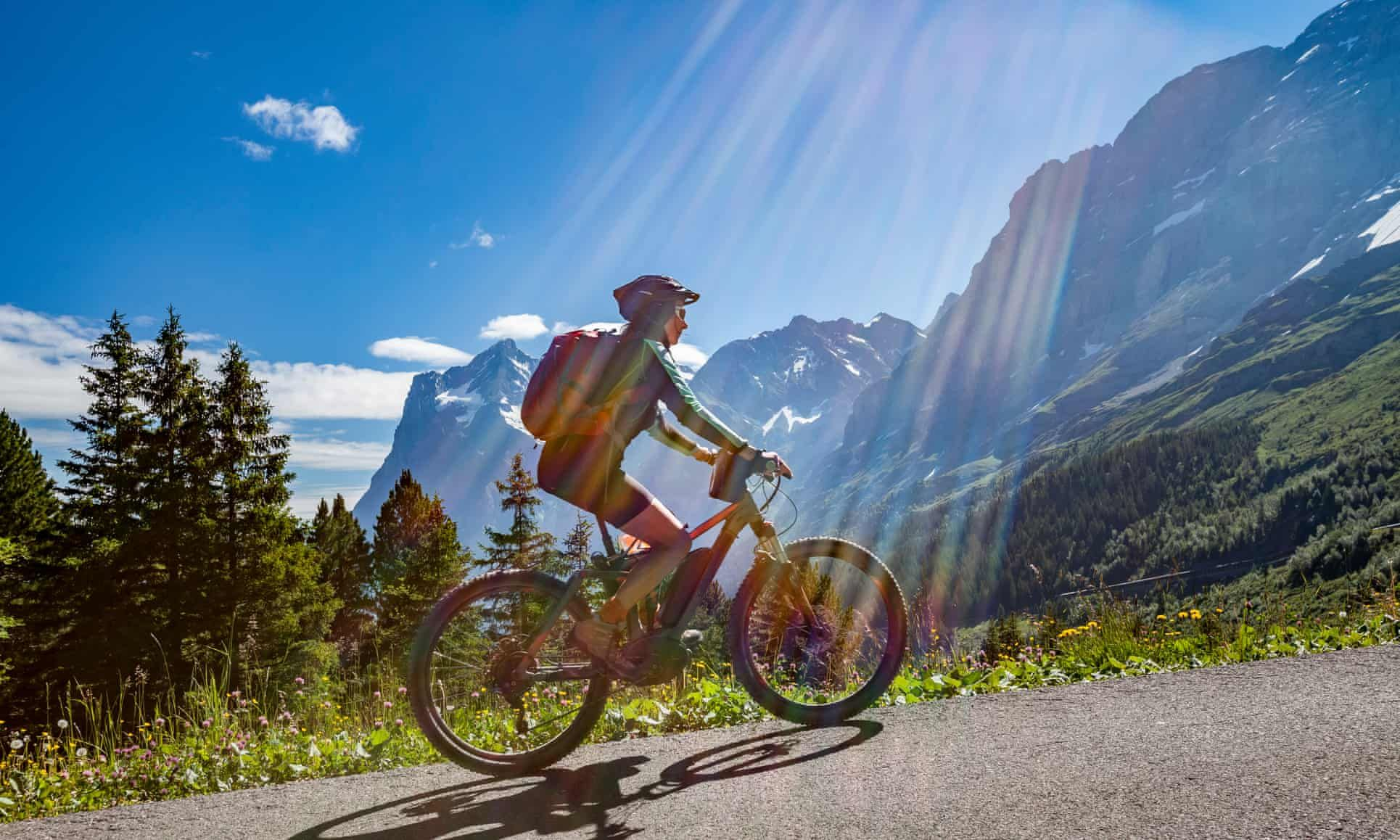 The Ebike Revolution Cycling In The Alps No Sweat Alps