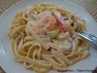 filipino-recipe-shrimp-fettuccine-alfredo13 #shrimpfettuccine filipino-recipe-shrimp-fettuccine-alfredo13 #shrimpfettuccine