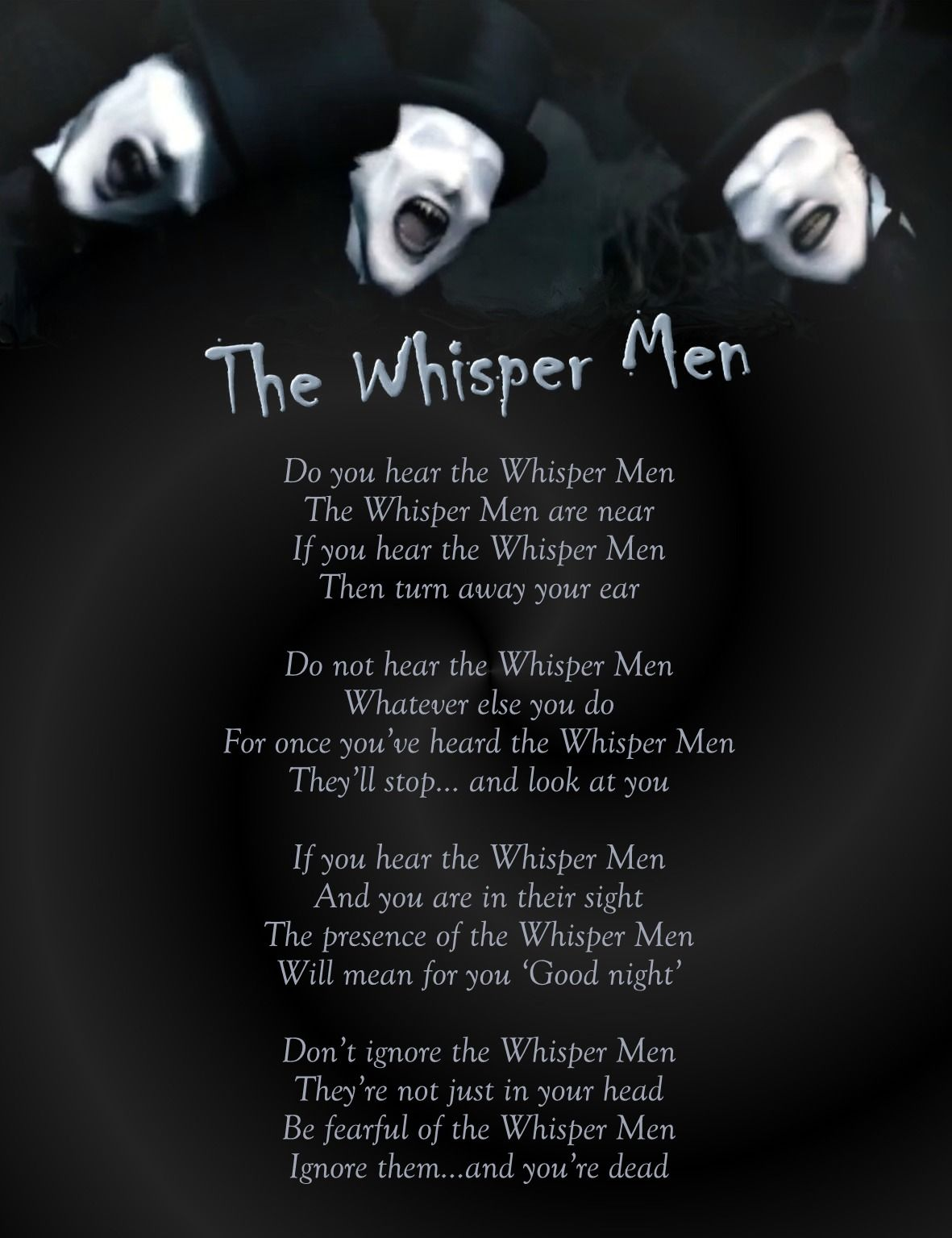 The Whisper Men Are Actually Some Of The Scariest Doctor
