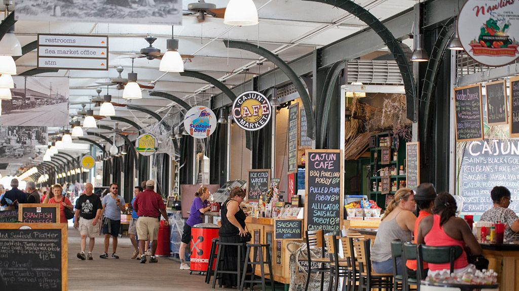 Most exciting new orleans attractions new orleans for Food bar new orleans